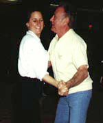 Sylvia Sykes and Maxie Dorf