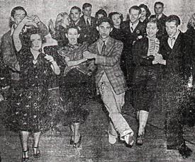 The Ray Rand Swingers (Lawrence Wise & Lillian Arnold, Maxie Dorf & Mary McCaslin, Gil Fernandez & Venna Cascon, 1937)